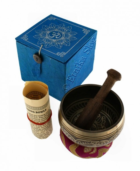 TIBETAN SINGING BOWLS CA-BOX01 - Oriente Import S.r.l.