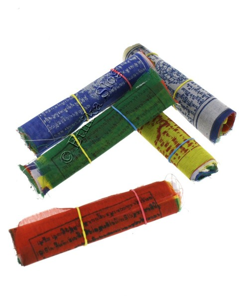 TIBETAN FLAGS AND DECORATIVE BANDS OG-BASET101 - Oriente Import S.r.l.