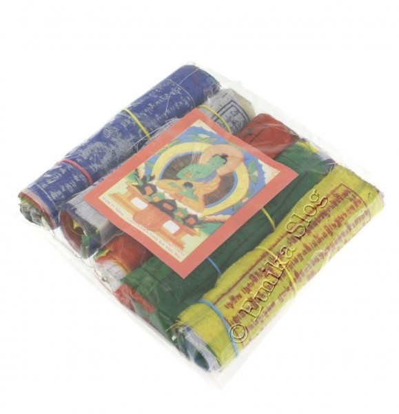 TIBETAN FLAGS AND DECORATIVE BANDS OG-BASET104 - Oriente Import S.r.l.