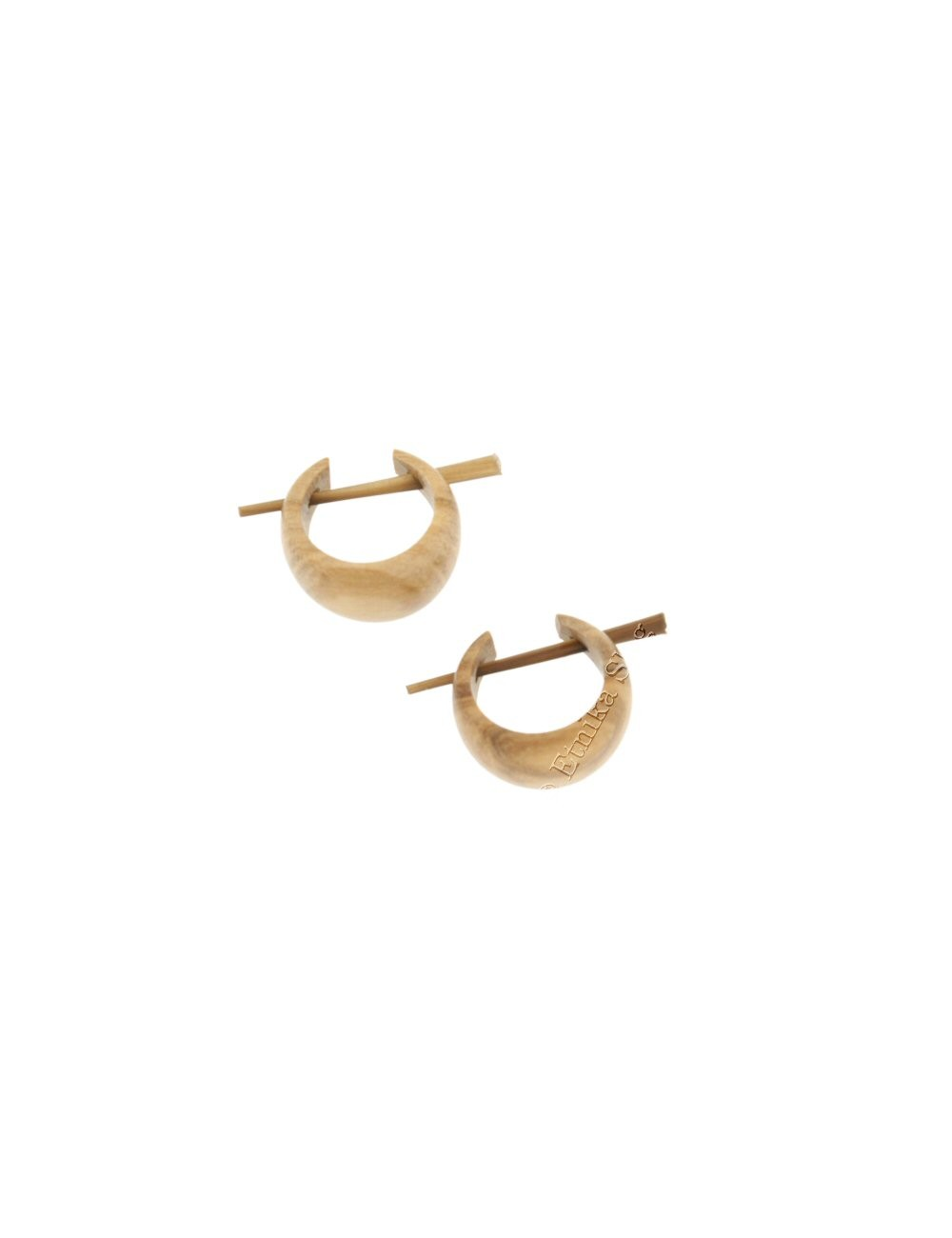 WOODEN EARRINGS LE-THO480-02 - Oriente Import S.r.l.