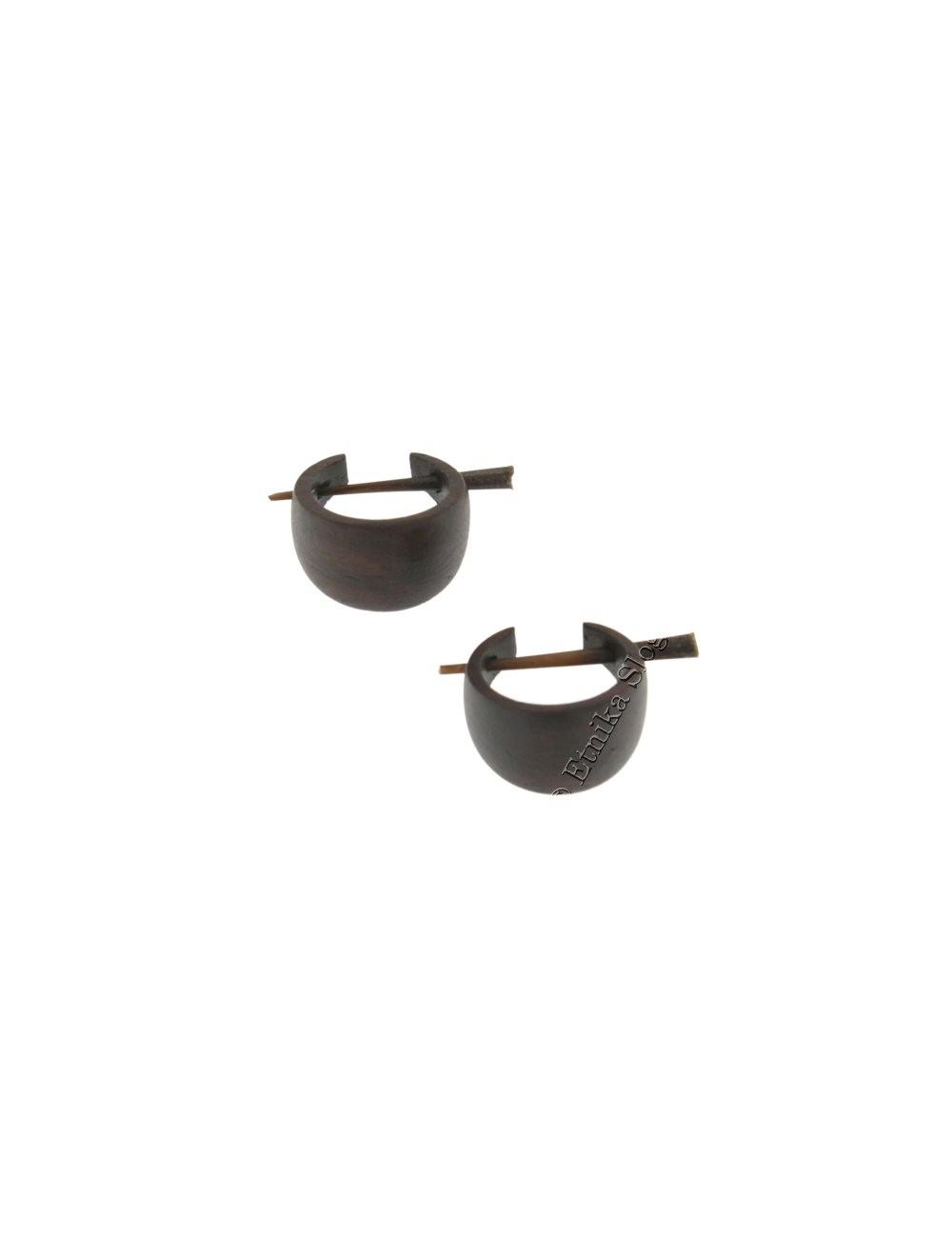 WOODEN EARRINGS LE-THO310-03 - Oriente Import S.r.l.