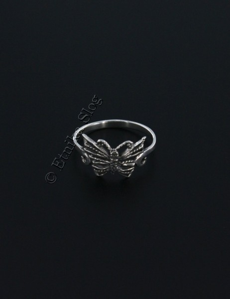 WROUGHT SILVER RINGS ARG-1AN09 - Oriente Import S.r.l.