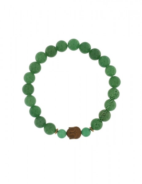 BUDDHA STONE BRACELET OF 8 mm PD-BR10-04 - Oriente Import S.r.l.
