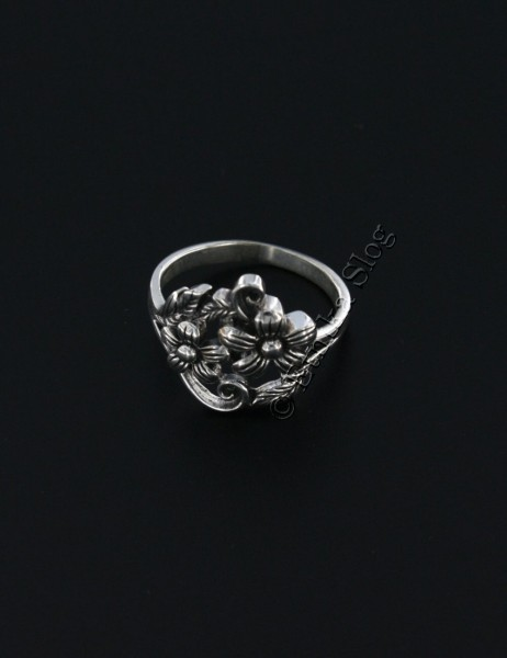 WROUGHT SILVER RINGS ARG-AN0790-02 - Oriente Import S.r.l.