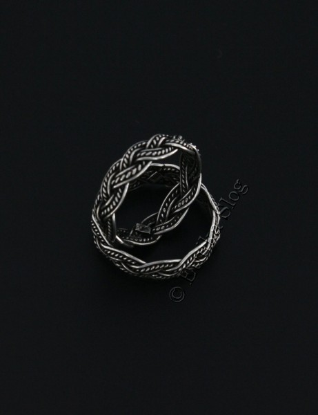 WROUGHT SILVER RINGS ARG-AN0550-01 - Oriente Import S.r.l.