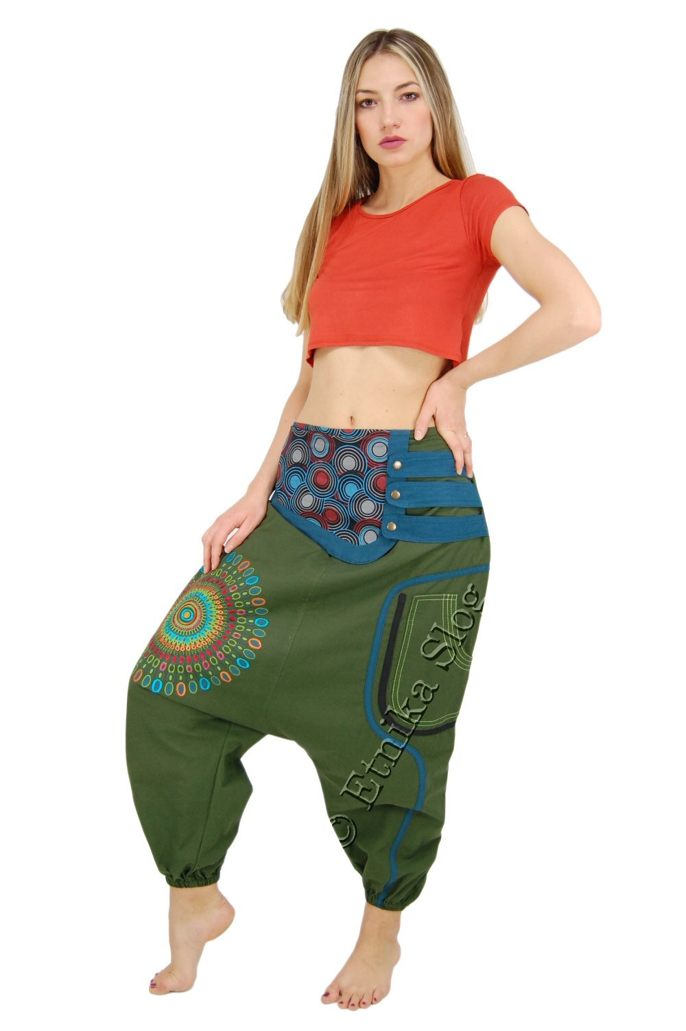 TROUSERS - COTTON AB-BSP06 - Oriente Import S.r.l.
