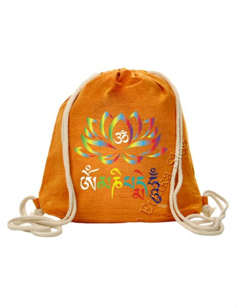 PRINTED COTTON BACKPACKS BS-ZC36-17C - Oriente Import S.r.l.