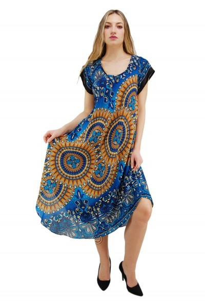 VISCOSE SUMMER DRESSES AB-BCV12CB - Oriente Import S.r.l.