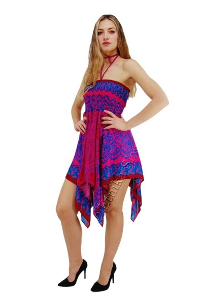 VISCOSE SUMMER DRESSES AB-BCV10CE-DRESS - Oriente Import S.r.l.