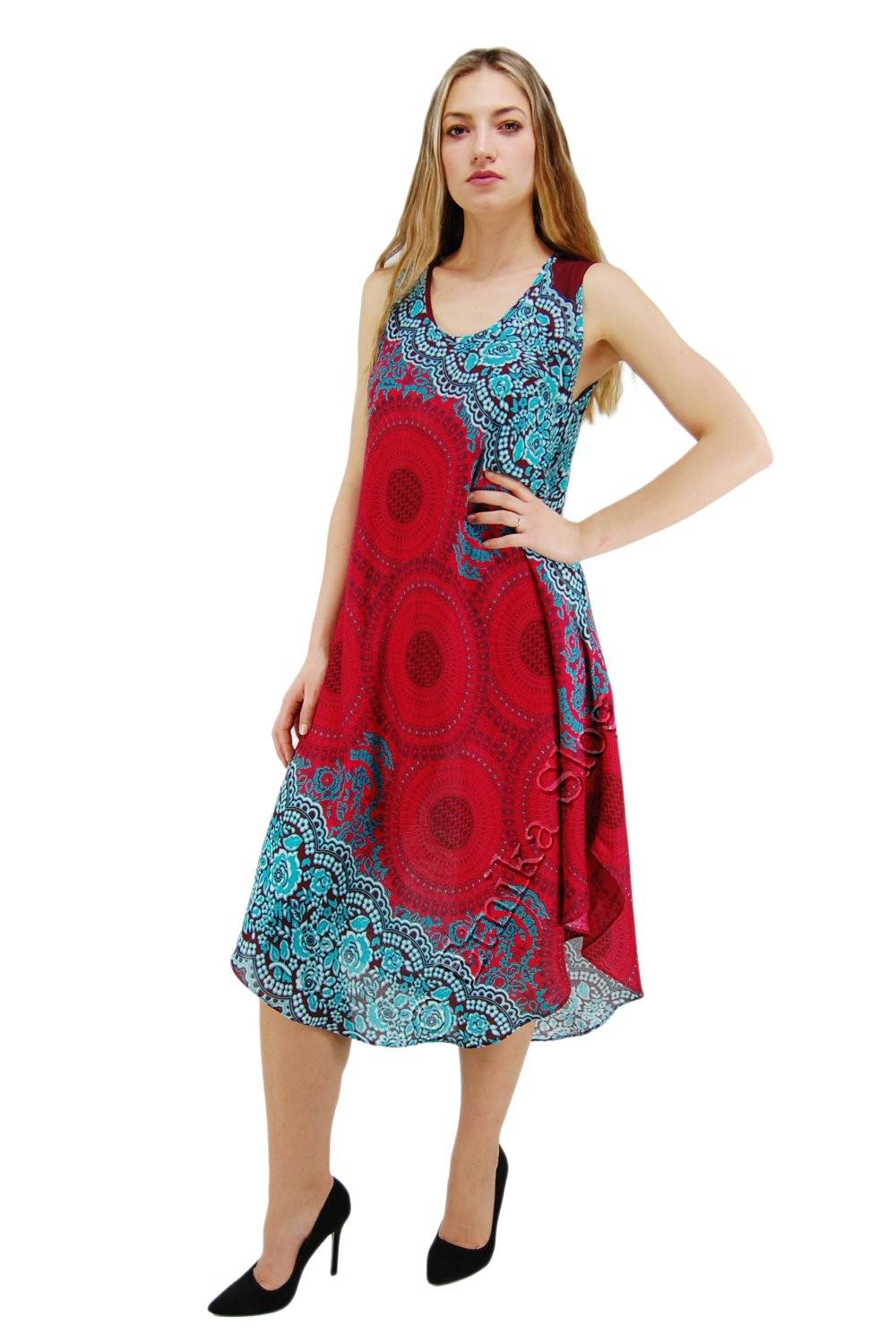 VISCOSE SUMMER DRESSES AB-BCV15CF - Oriente Import S.r.l.