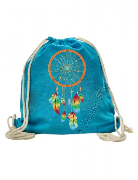 UNICOLOR BAGGY BACKPACKS WITH PRINTS BS-ZC36-08 - Oriente Import S.r.l.