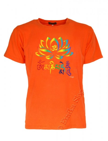 MEN'S COTTON T-SHIRT - PLAIN WITH PRINT AB-NPM05-17C - Oriente Import S.r.l.