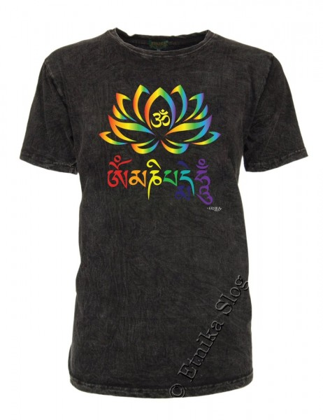 MEN'S COTTON T-SHIRT - STONEWASHED WITH PRINT AB-NPM02-17C - Oriente Import S.r.l.