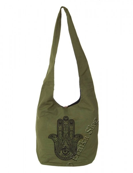 BAG SHOULDER BAG - COTTON PLAIN BS-NE06-07 - Oriente Import S.r.l.