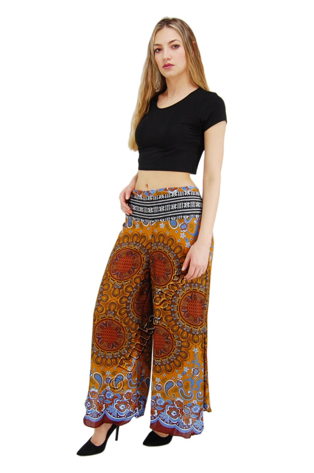 VISCOSE TROUSERS AND SHORTS AB-BCP08CA - Oriente Import S.r.l.