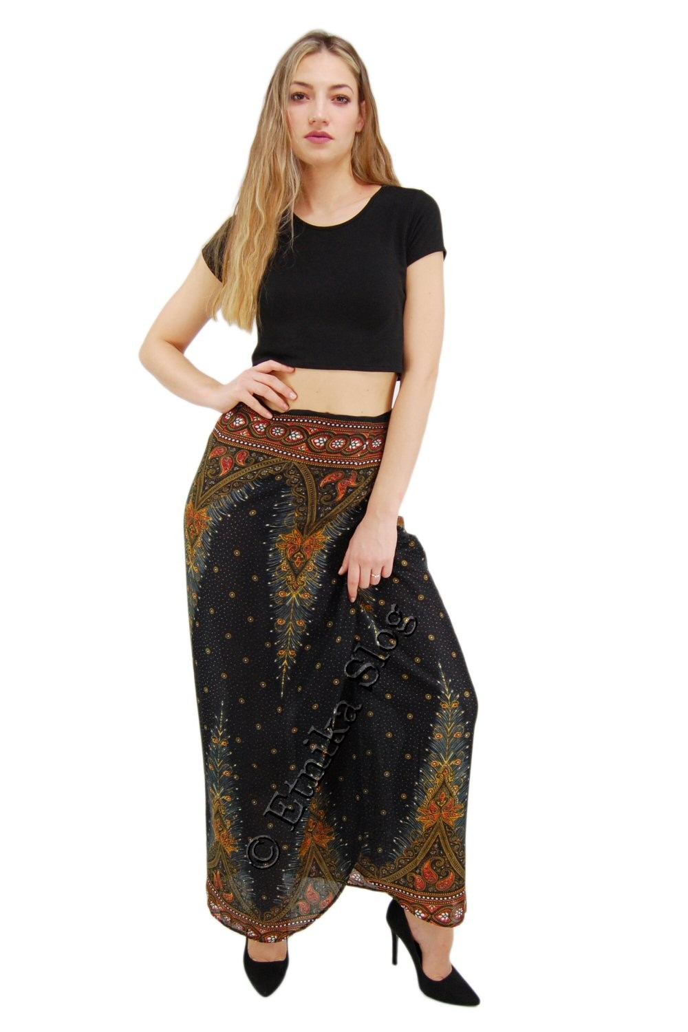 LONG SUMMER SKIRTS AB-BCK06BA - Oriente Import S.r.l.