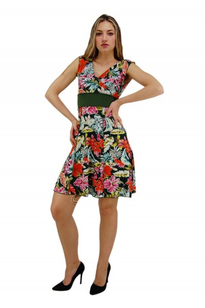 SUMMER SLEEVELESS JERSEY DRESSES AB-MRS360-B - Oriente Import S.r.l.