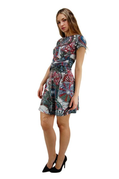 SUMMER JERSEY DRESSES WITH SHORT SLEEVES AB-MRS421-A - Oriente Import S.r.l.