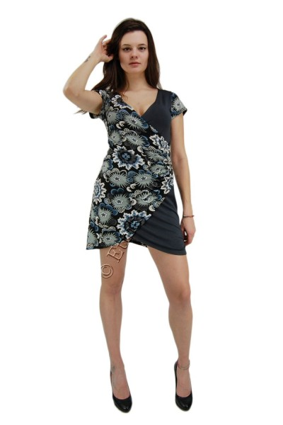 SUMMER JERSEY DRESSES WITH SHORT SLEEVES AB-MRS271-B - Oriente Import S.r.l.