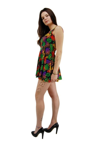 SUMMER SLEEVELESS JERSEY DRESSES AB-MRS145-B - Oriente Import S.r.l.