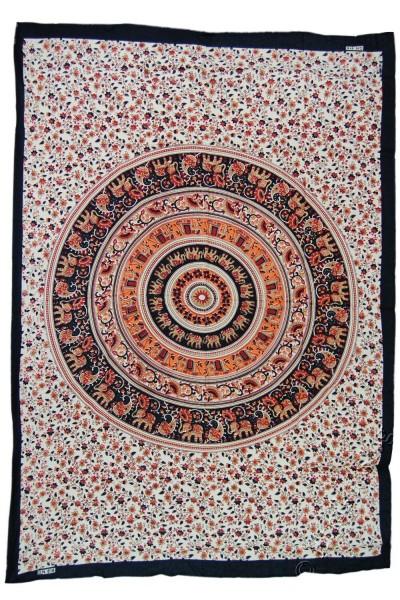 KLEINE UND MITTEL INDIANER STOFFBAHN TI-P01-49 - Oriente Import S.r.l.