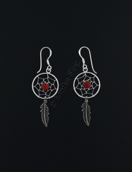 DREAMCATCHER EARRINGS ARG-1OR430-01 - Oriente Import S.r.l.
