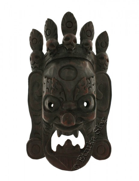 DECORATIVE MASKS MAS-LE02-09 - Oriente Import S.r.l.