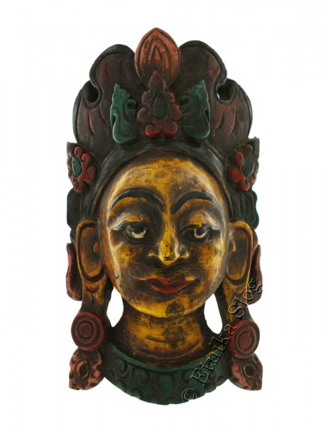 DECORATIVE MASKS MAS-LE02-05B - Oriente Import S.r.l.