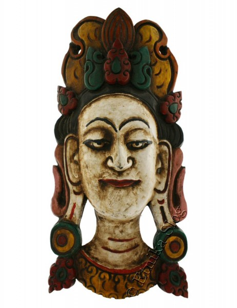 DECORATIVE MASKS MAS-LE03-07 - Oriente Import S.r.l.