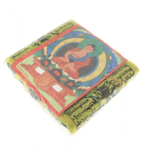 TIBETAN FLAGS AND DECORATIVE BANDS OG-BASET207 - Oriente Import S.r.l.