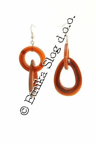 HORN EARRINGS CO-OR06-04 - Oriente Import S.r.l.