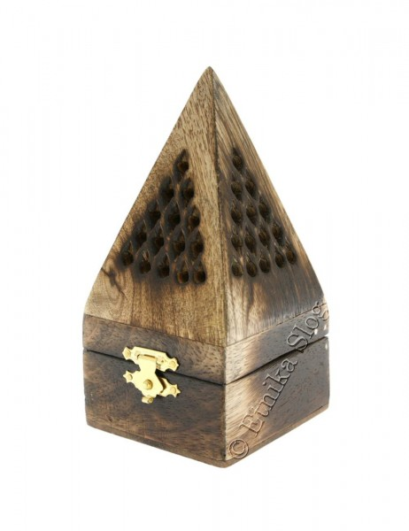 INCENSE HOLDER - WOODEN PILLAR PI-BC03 - Oriente Import S.r.l.