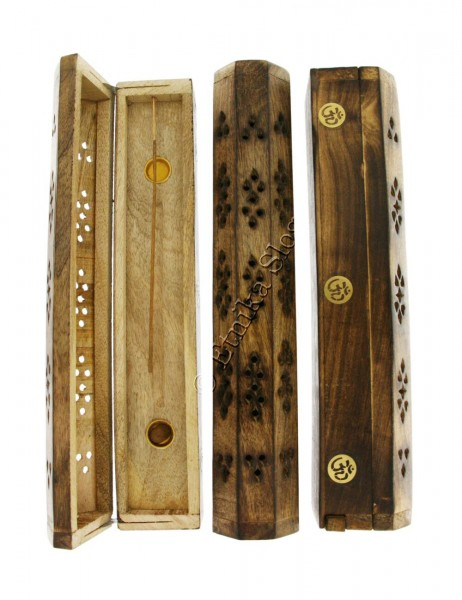INCENSE HOLDERS WOODEN BOX PI-BG03-01 - Etnika Slog d.o.o.