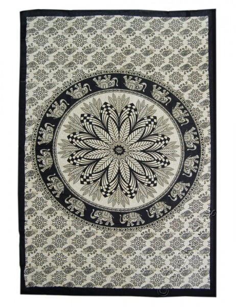 SMALL AND MEDIUM INDIAN BEDSPREADS TI-M01-15 - Oriente Import S.r.l.