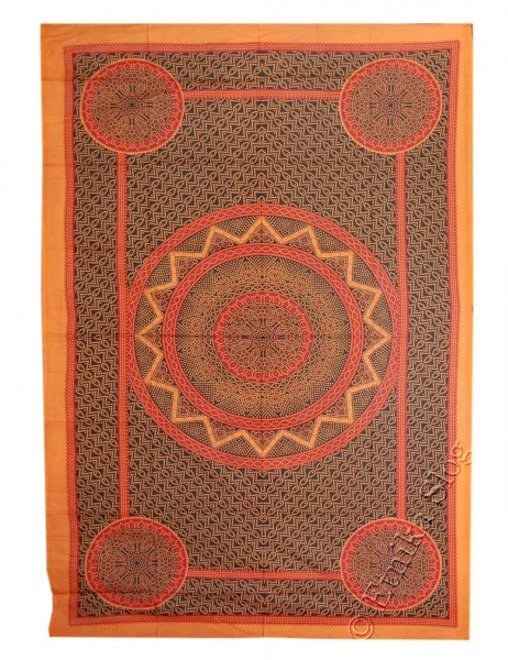 SMALL AND MEDIUM INDIAN BEDSPREADS TI-M01-39 - Oriente Import S.r.l.