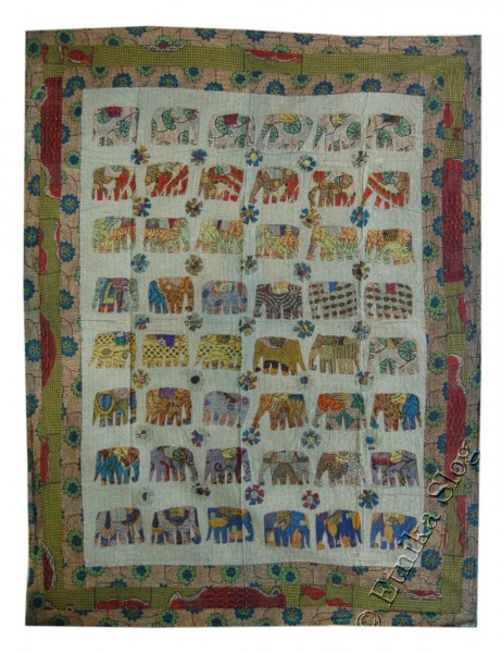 EMBROIDERED AND DECORATED ORIENTAL ETHNIC INDIAN TOWELS TI-PKEL01-01 - Oriente Import S.r.l.