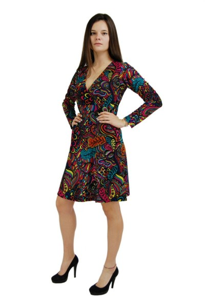 -20% DRESSES - LONG SLEEVES - AUTUMN/WINTER AB-MIWV03-01 - Oriente Import S.r.l.