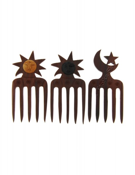 WOODEN HAIR PINS FC-PRSET - Oriente Import S.r.l.