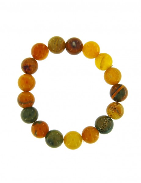 STONE BRACELET OF 12 mm PD-BR02-05 - Oriente Import S.r.l.