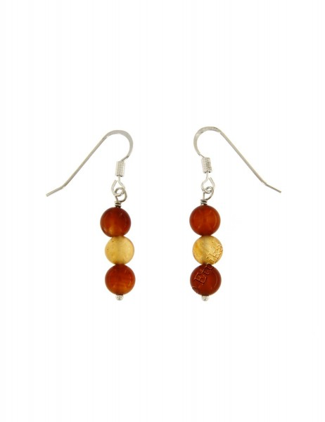 HARD STONE EARRINGS PD-OR600-02 - Oriente Import S.r.l.
