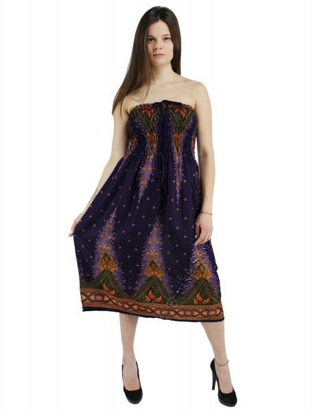 VISCOSE SUMMER DRESSES AB-BCK05BA-DRESS - Oriente Import S.r.l.