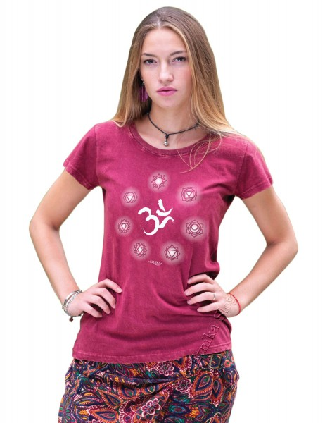 COTTON T-SHIRTS - STONEWASHED WITH PRINT AB-NPM03-45 - Oriente Import S.r.l.