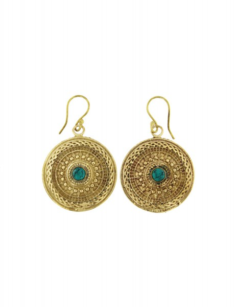 HARD STONE EARRINGS MB-ORP320-01 - Oriente Import S.r.l.