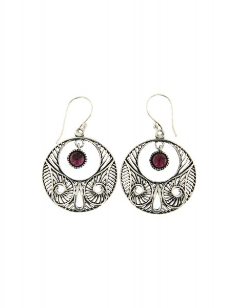 HARD STONE EARRINGS MB-ORP320-05 - Oriente Import S.r.l.