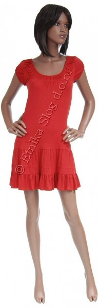 UNICOLOR JERSEY SUMMER DRESSES AB-MRS110TU - Oriente Import S.r.l.