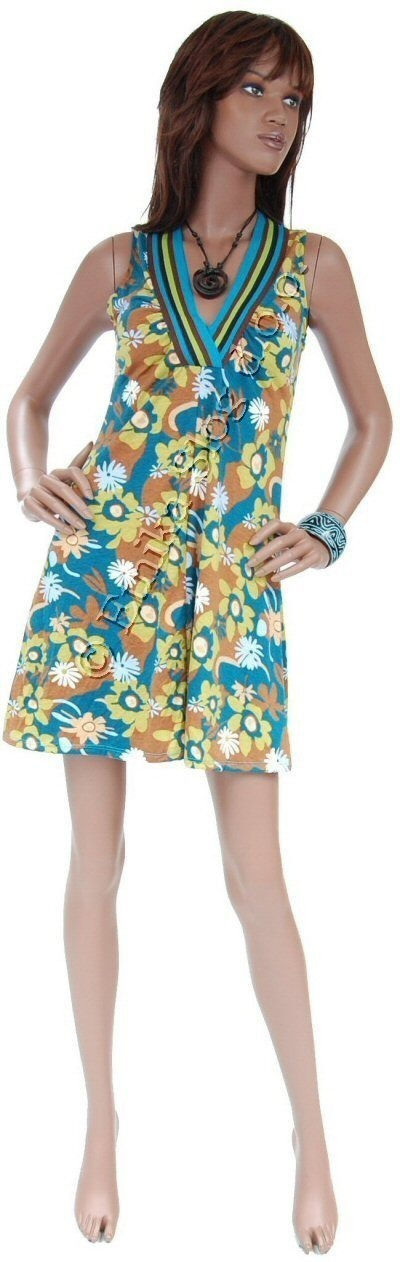 DRESSES IN JERSEY COTTON, SLEEVELESS AB-MRS211L - Oriente Import S.r.l.