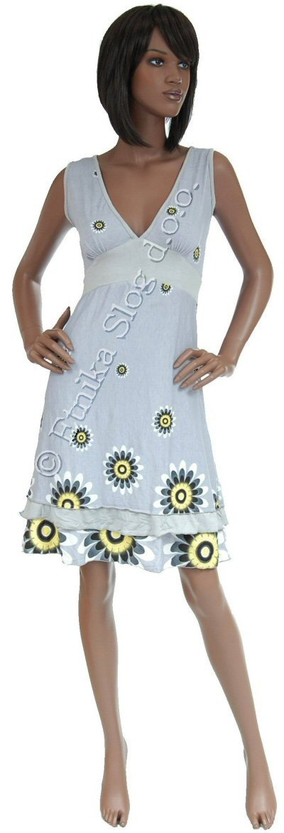 SUMMER SLEEVELESS JERSEY DRESSES AB-MRS254AS - Oriente Import S.r.l.