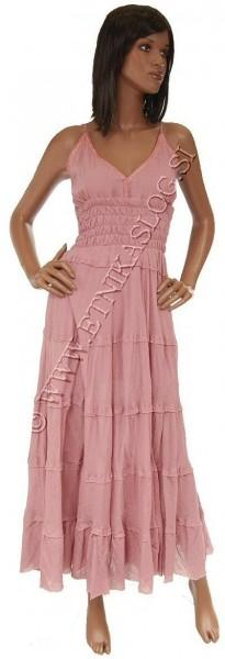 SHORT SLEEVE AND SLEEVELESS COTTON DRESSES AB-AJV41 - Oriente Import S.r.l.