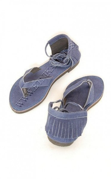 SANDALS IN LEATHER SN-AP03 - Oriente Import S.r.l.