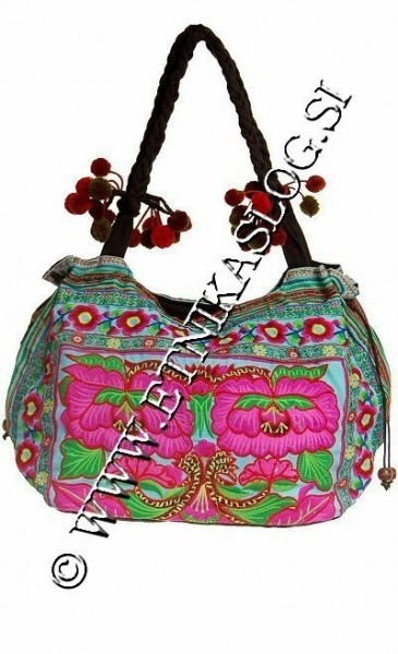 EMBROIDERED SHOULDER BAGS BS-THD14-01 - Oriente Import S.r.l.